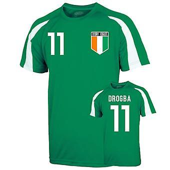 Ivory Coast Sports Training Jersey (drogba 11) - Kids