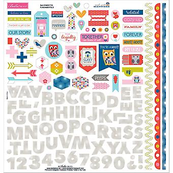 Mind Your Manners Cardstock Stickers 12