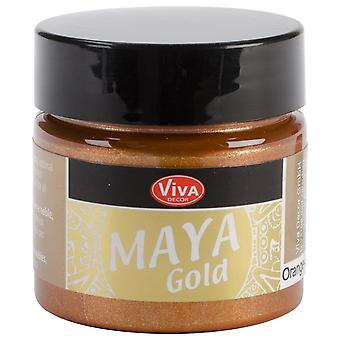 Viva Decor Maya Gold 50ml-Orange Gold