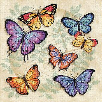 Butterfly Profusion Counted Cross Stitch Kit-11