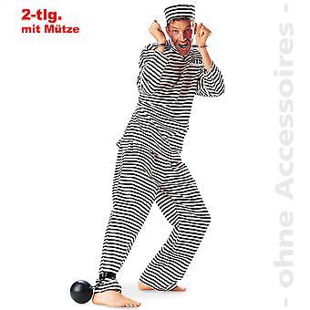 Convict Beagle mens costume prison prisoner Jailbird Mr costume