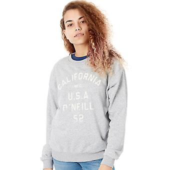 Oneill Silver Melee Easy Crew Womens Sweater