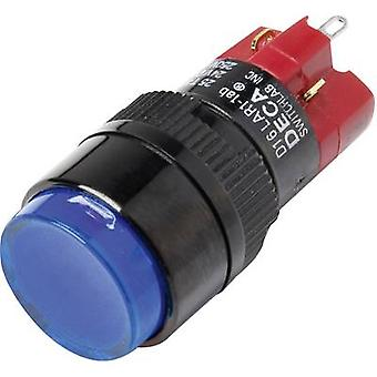 DECA D16LAR1-1abKB Pushbutton switch 250 V AC 5 A 1 x Off/On IP40 latch 1 pc(s)
