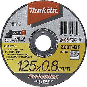Cutting disc (straight) 125 mm 22.23 mm Makita B-45733 1 pc(s)