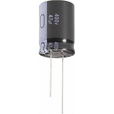 Jianghai ECR2GLK220MFF501225 Electrolytic capacitor Radial lead 5 mm 22 µF 400 V 20 % (Ø x H) 12.5 mm x 25 mm 1 pc(s)