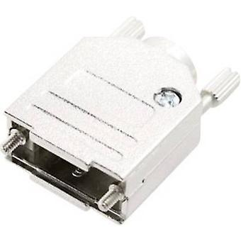 D-SUB housing Number of pins: 37 Metal 180 ° Silver MH Connectors MHDTZK-N-50-RA-K 1 pc(s)