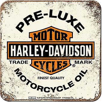 Harley Davidson Pre-Luxe (Pale) Drinks Mat / Coaster