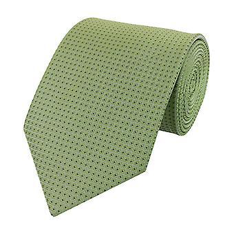 Stropdas de stropdas tie stropdas breed 8cm lime groen vierkante patronen Fabio Farini