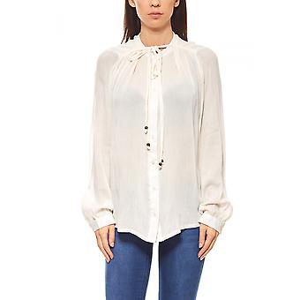 Rick cardona women's blouse with lace white
