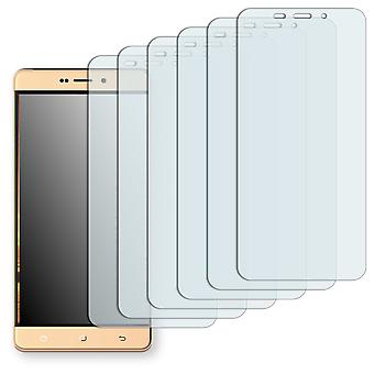 Hisense E76 display protector - Golebo Semimatt protector (deliberately smaller than the display, as this is arched)
