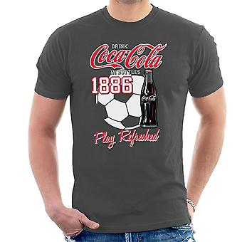 Coca Cola Football Play Refreshed Men's T-Shirt