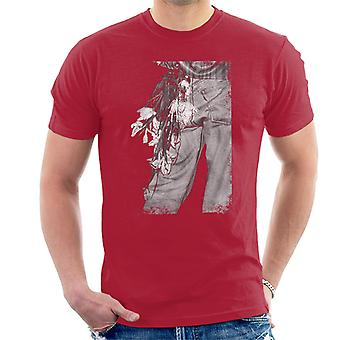 The Smiths Morrissey Flowers In The Back Pocket Men's T-Shirt