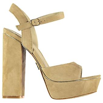 Windsor Smith Womens Karina Platform Heeled Summer Casual Open Toe Shoes