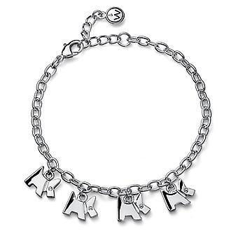 Oliver Weber Bracelet Doggy Rhodium Crystal