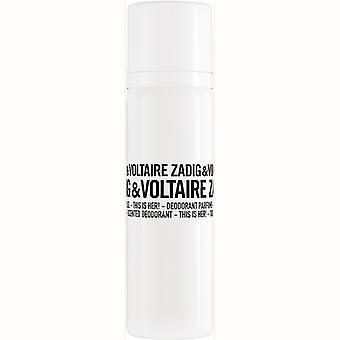 Zadig & Voltaire ist ihr Deodorant Spray 100 ml