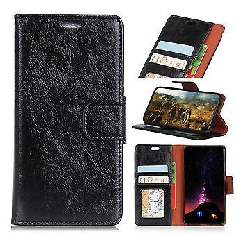 Nokia 8 Sirocco wallet sleeve Textured Split-Black