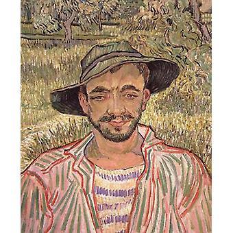 Portrait of a Young Peasant, Vincent Van Gogh, 61x50cm