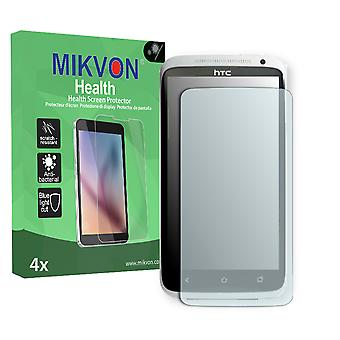 HTC One XL Screen Protector - Mikvon Health (Retail Package with accessories) (reduced foil)