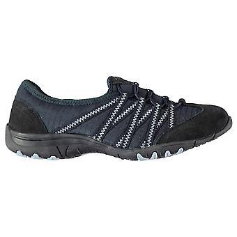 Kangol Womens Erin Bungee Shoes Casual Slip On Memory Foam Suede