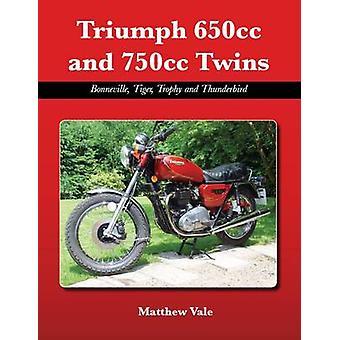 Triumph 650cc e 750cc gêmeos - Bonneville - tigre - troféu e Thunde