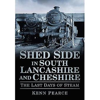 Cobertizo lateral en South Lancashire y Cheshire en los últimos días del vapor