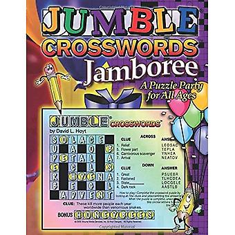 Jumble Crossword Jamboree: A Puzzle Party for All Ages (Jumble Crosswords)