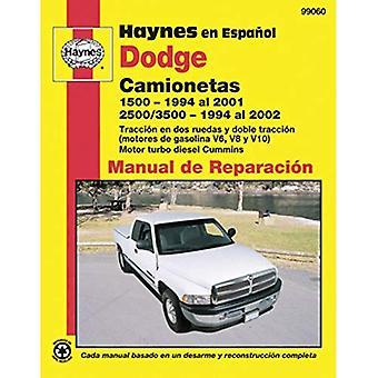 Haynes Dodge Camionetas 1500, 1994 al 2001/2500/3500, 1994 al 2002