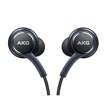 Official Samsung Galaxy S9 / S9+ Headphones / Earphones - Tuned by AKG / Harman Kardon - Black (EO-IG955BSEGWW) - Bulk Packed