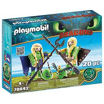 Playmobil 70042 Dragons - Ruffnut and Tuffnut