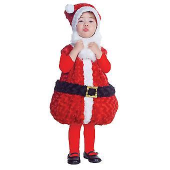 Große Santa-Kleinkind-Kostüm