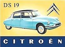 Citroen DS Metal Fridge Magnet