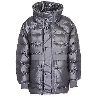 Adidas By Stella Mccartney Grey Nylon Down Jacket