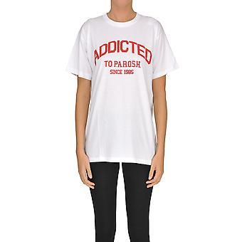 P.a.r.o.s.h. White Cotton T-shirt
