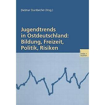 Jugendtrends in Ostdeutschland Bildung Freizeit Politik Risiken Lngsschnittanalysen zur Lebenssituation und Delinquenz 19992001 door Sturzbecher & Dietmar