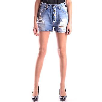 Semi-couture Blue Denim Shorts