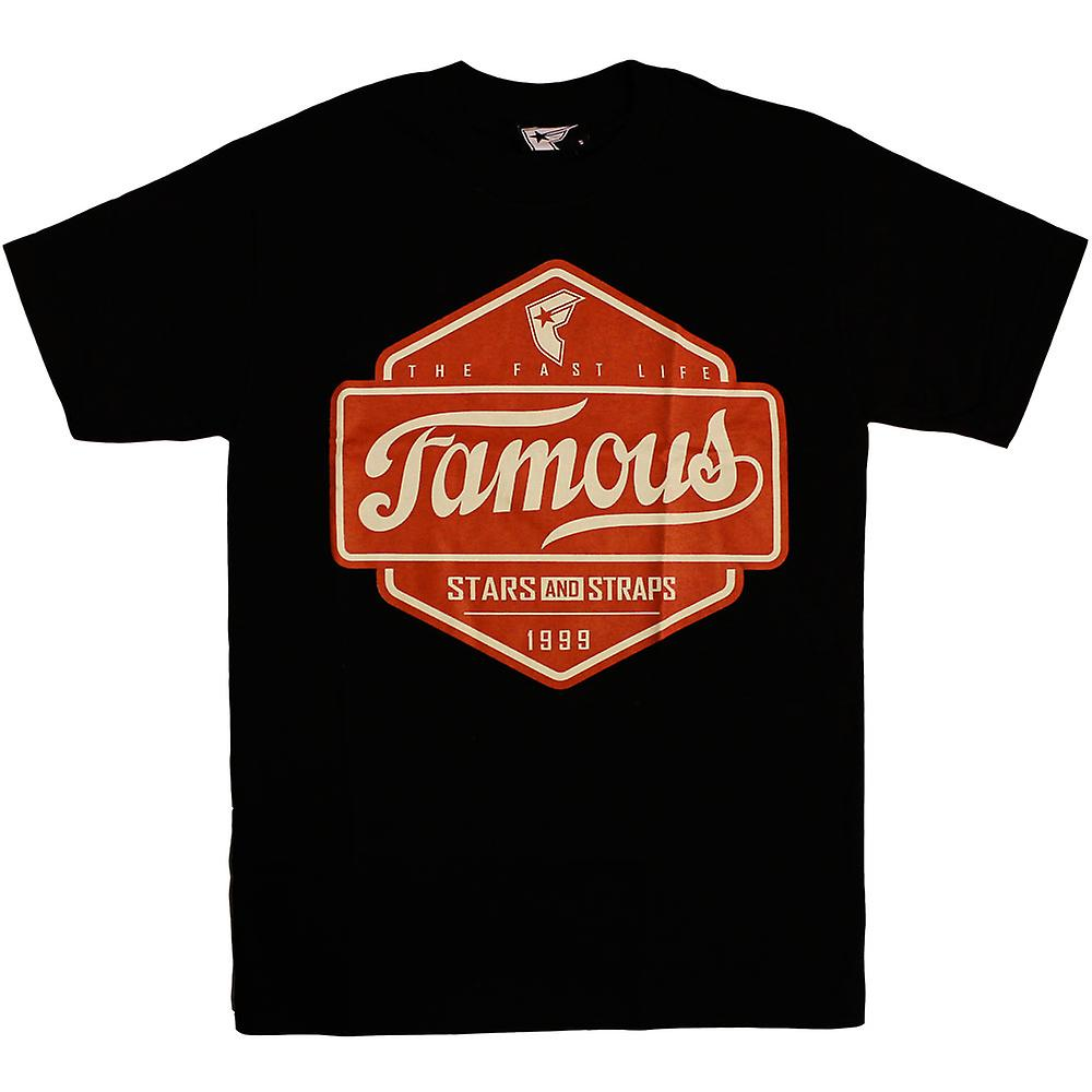 Famous Stars and Straps Top Choice T-shirt Black Red