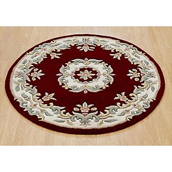 Rugs - Mahal Round - Red