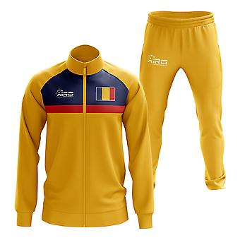 Chad Concept Football Tracksuit (Yellow)