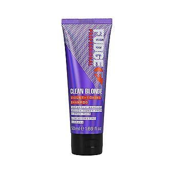 Fudge Clean Blonde Violet Toning Shampoo 50ml