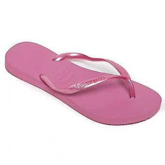 Havaianas Slim Flip Flops, Ice Pink