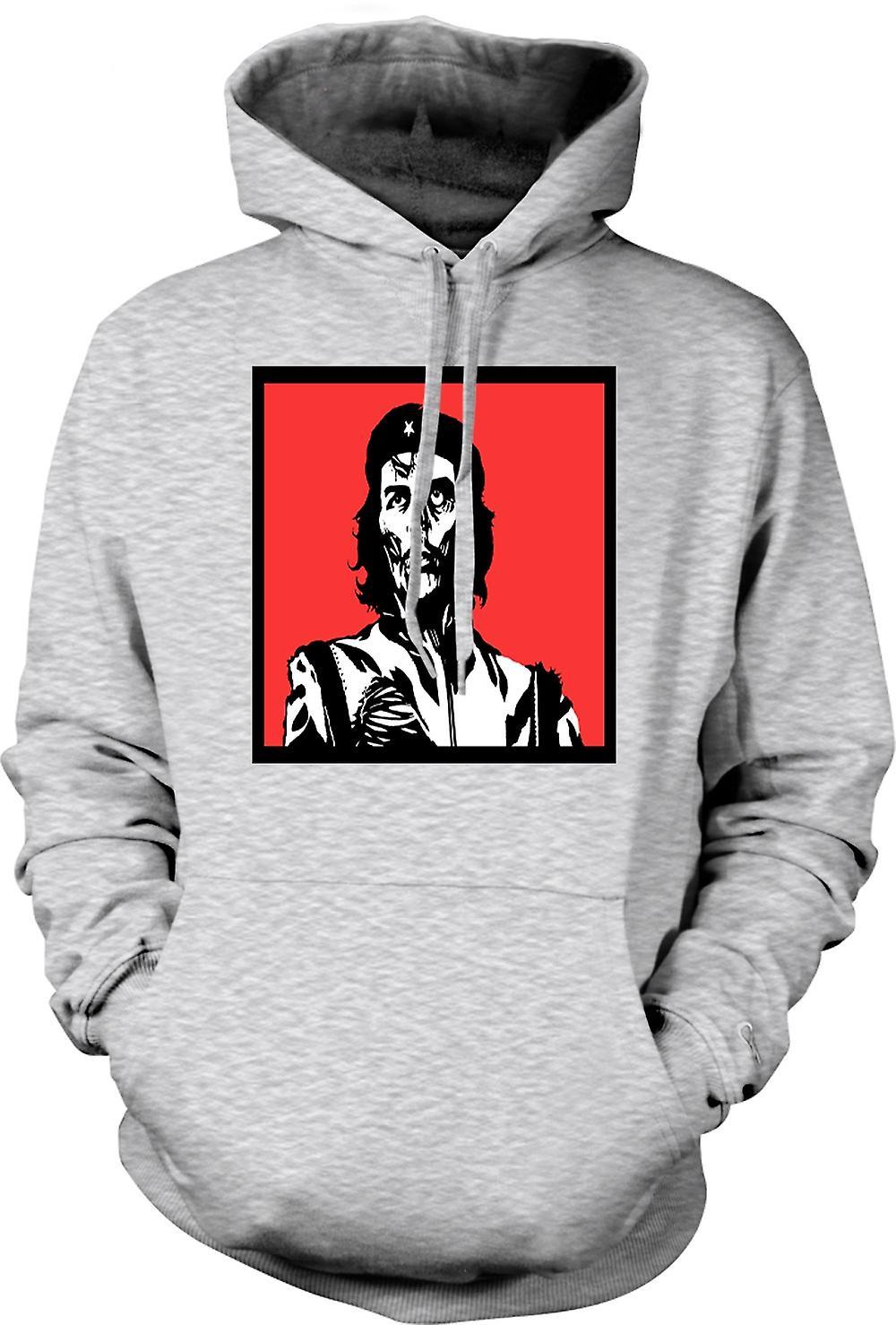 Mens Hoodie - Che Guevara Zombie