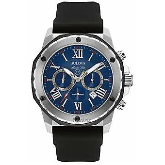 Bulova Marine Star Blue Dial 98B258 Watch