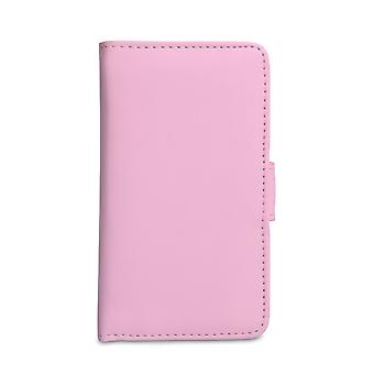 YouSave Accessories Sony Xperia E Leather Wallet Case Baby Pink