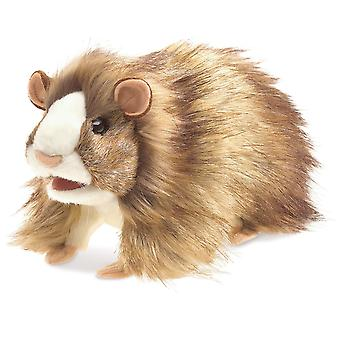 Hand Puppet - Folkmanis - Guinea Pig New Animals Soft Doll Plush Toys 3070
