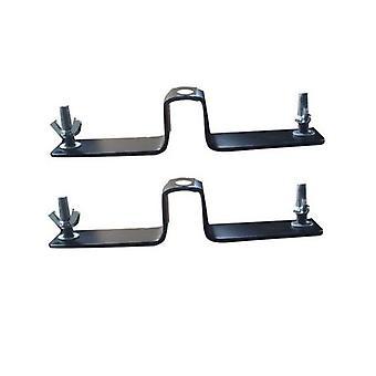 BRESSER BR-D90 PRO-1 Paar Rollenhalter für Hintergrundsystem