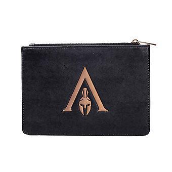 Assassins Creed Odyssey Monedero Monedero Premium Bolsa nuevo Oficial Negro