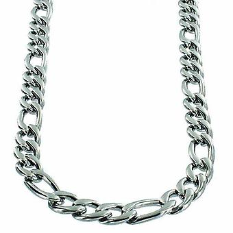 Neck chain Stainless Steel Figaro link 8mm