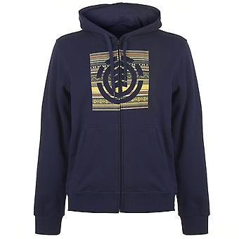 Element Mens Indiana Hoodie Top Jumper Blouse Sweatshirt Long Sleeve Hood