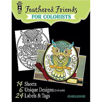 Hot Off The Press Coloring Book 5