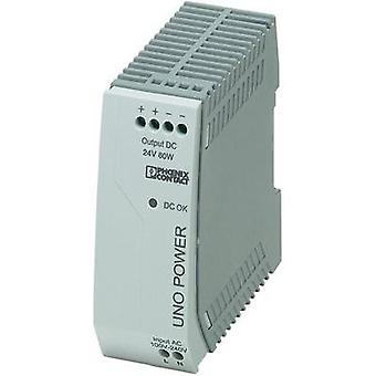 Phoenix Contact 2902992 DIN Rail Power Supply , 1-Phase